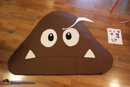 Eyebrow Shape, Goomba Costume