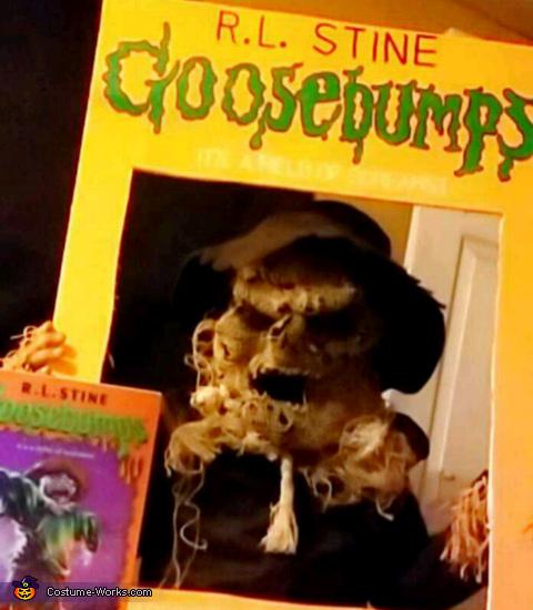 Goosebump Book Homemade Costume