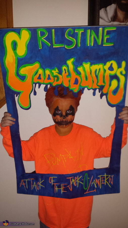 Goosebumps Homemade Costume