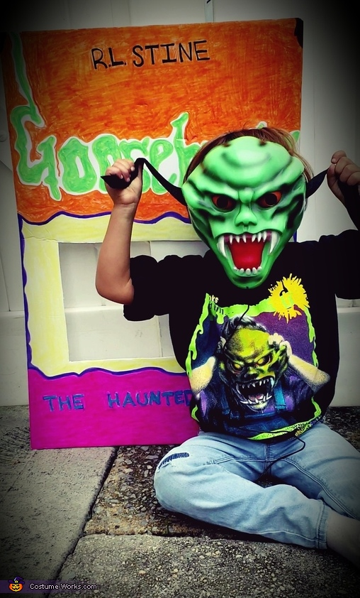 "Goosebumps ""The Haunted Mask"" Costume"