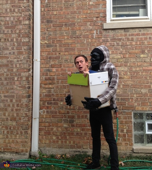 Gorilla Carrying Human Costume