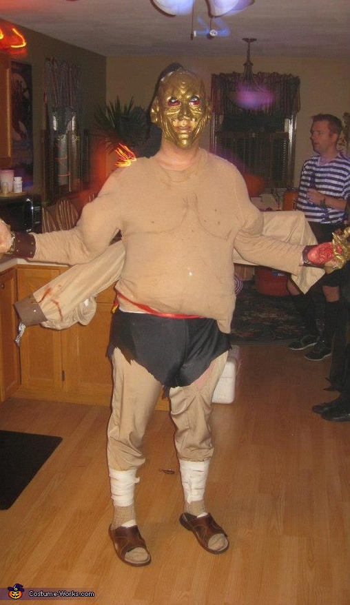 goro mortal kombat movie costume
