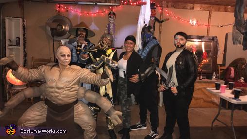 Goro Mortal Kombat Homemade Costume