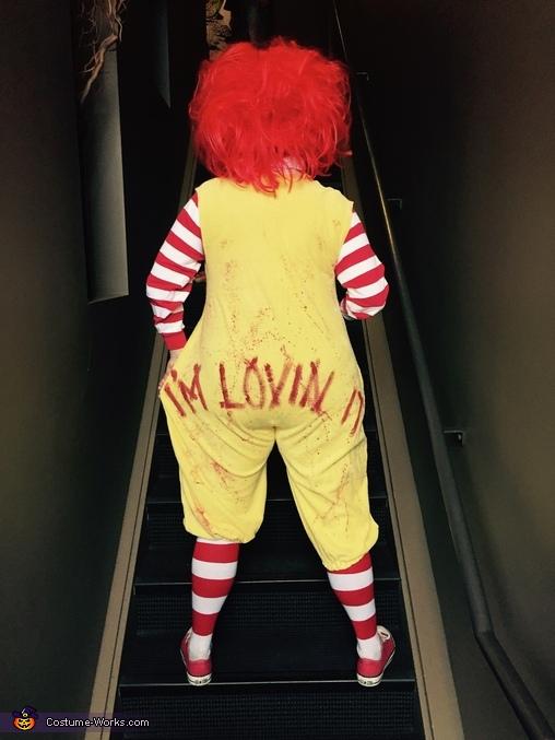 I'm lovin' it!, Gory Ronald McDonald Costume