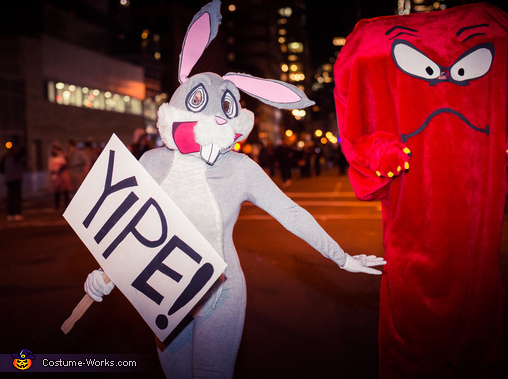 Gossamer and Bugs Bunny Costume