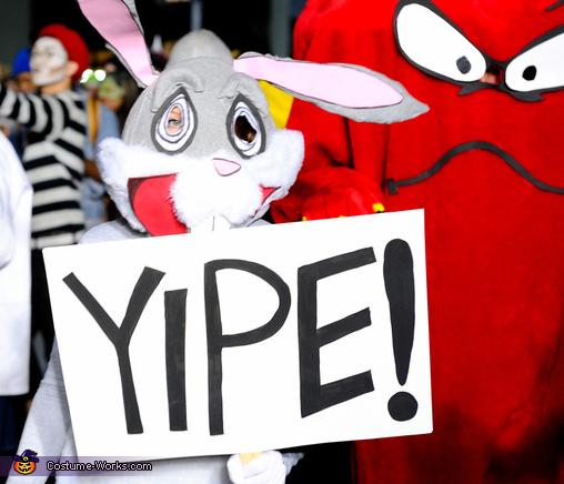 Gossamer and Bugs Bunny Homemade Costume