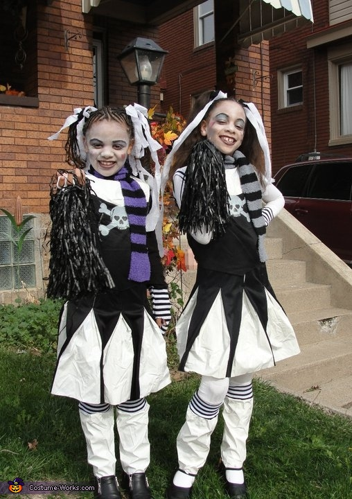 Goth Cheerleaders Costume