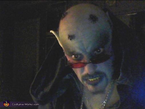 NOSFERATU 1 , Goth Vampire Costume