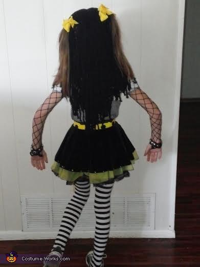 Goth Rag Doll, Goth Ragdoll Costume