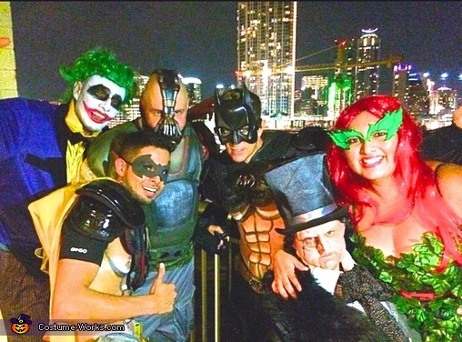 Gotham City Group Costume