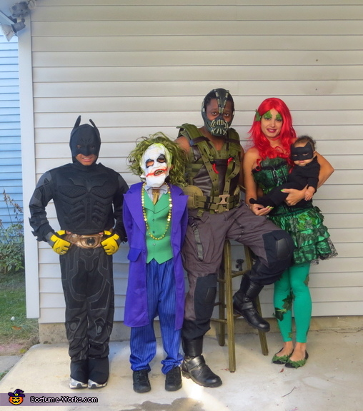 Gotham City Family Costume