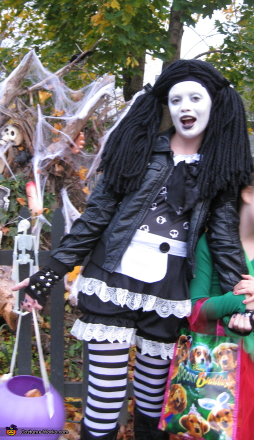 Gothic Rag Doll - Homemade costumes for girls