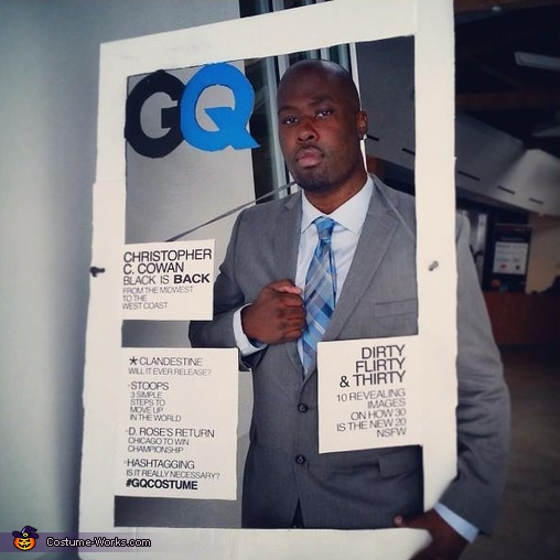 GQ Cover Costume