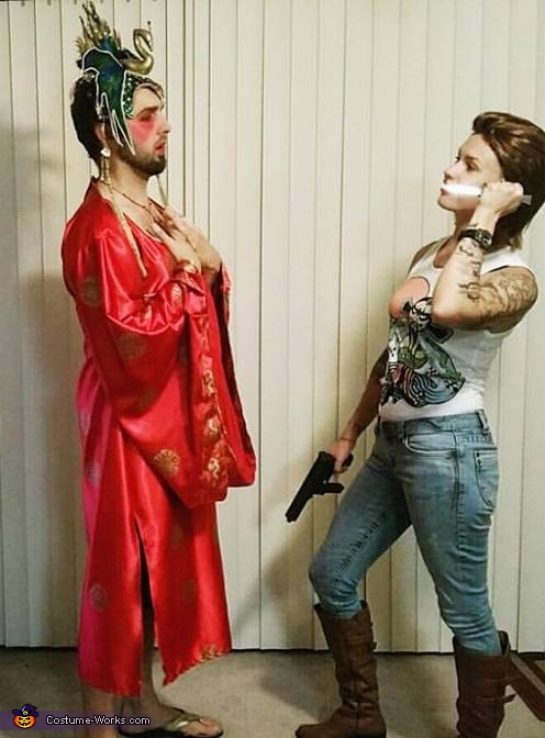 With Jack Burton, recreating a scene!, Gracie Law - Big Trouble in Little China Costume
