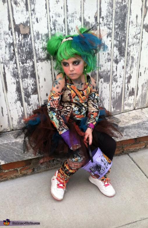 Graffiti Girl Costume