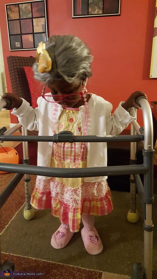 Infant Grandma Baby Costume