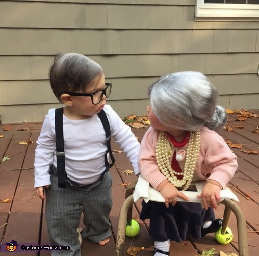 Grandma and Grandpa Costume