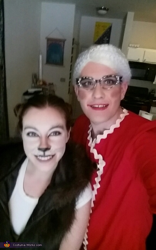 Grandma and the Big Bad Wolf Costume
