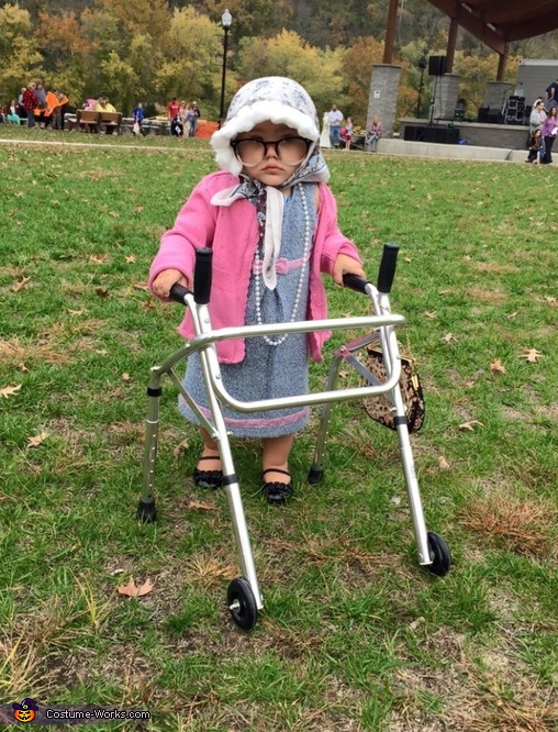 Cutest Grandma Baby Costume