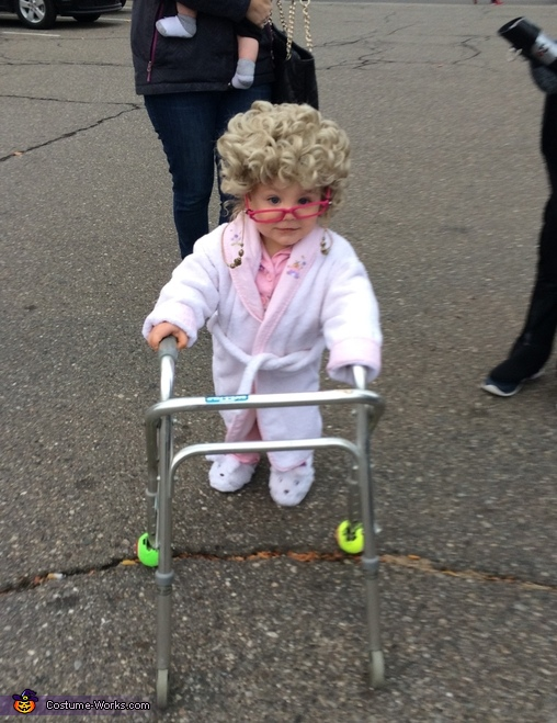 Grandma Baby Costume