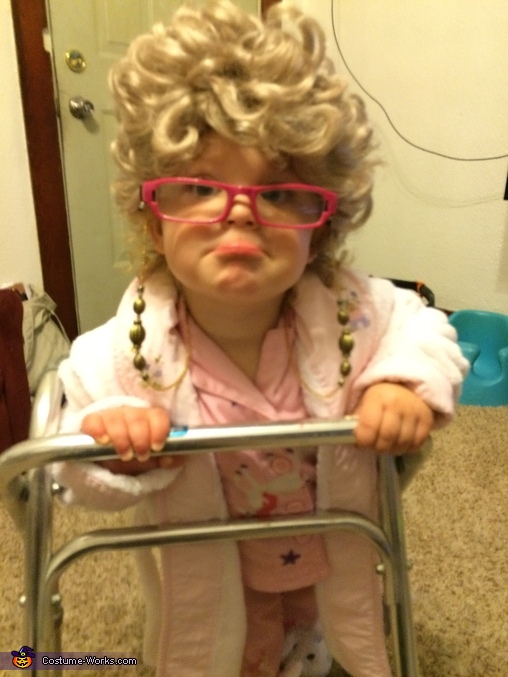 Typical grandma, Grandma Baby Costume