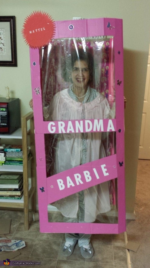 Grandma Barbie Costume