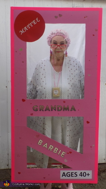 Grandma Barbie in Box Costume