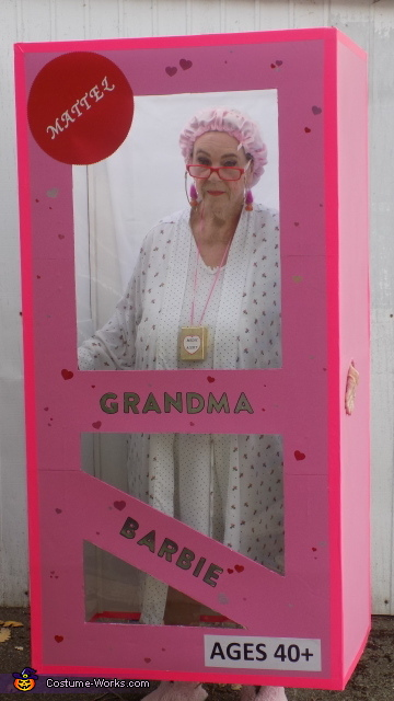 Grandma Barbie by Jean, Grandma Barbie in Box Costume