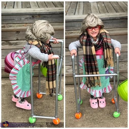Grandma Brooklyn Homemade Costume