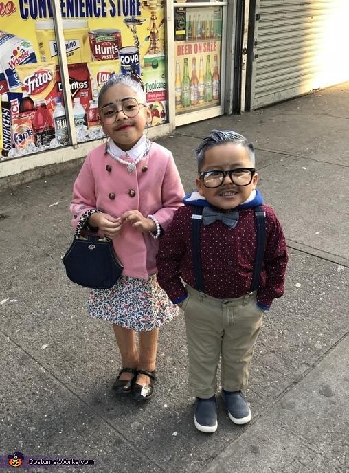 Grandma & Grandpa Costume