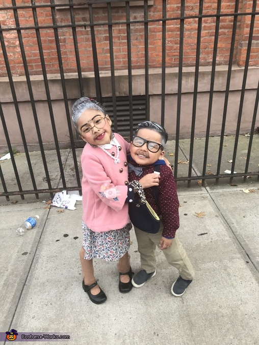Grandma & Grandpa Homemade Costume