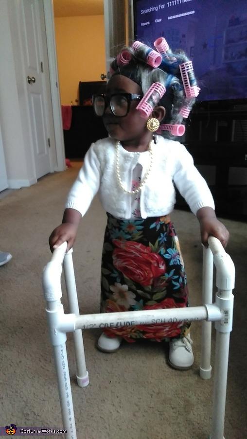 Grandma Pebbles Costume