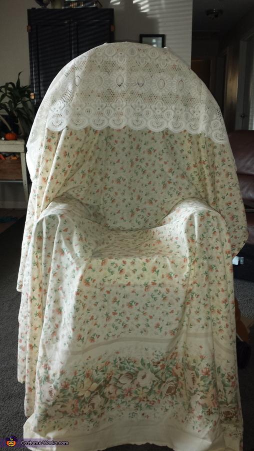 Grandma's Chair Homemade Costume