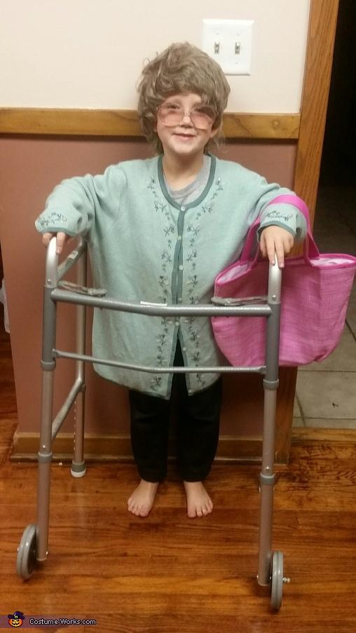 Granny Zoey Costume