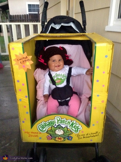 Cabbage patch, Granny Baby Costume
