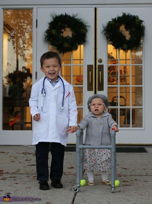 Granny Addie and Dr. Case Costume