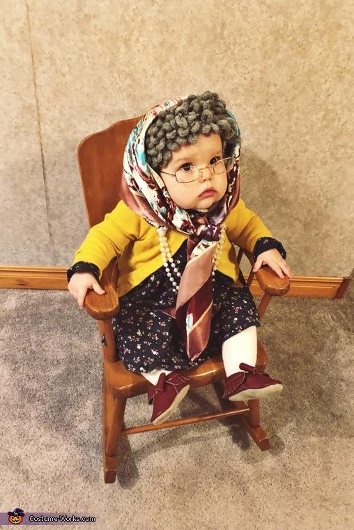 Granny Edna Costume