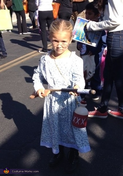 Granny from The Beverly Hillbillies Homemade Costume