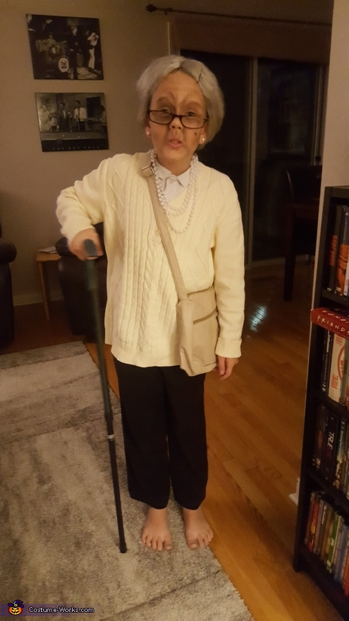 Granny Girl Homemade Costume