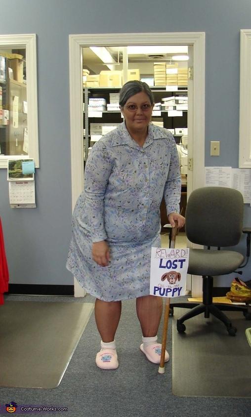 Granny lost her Dog Costume