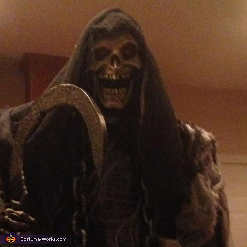 Grave Reaper Homemade Costume