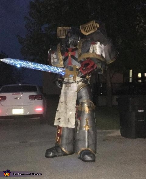 Gray Knight Space Marine Costume