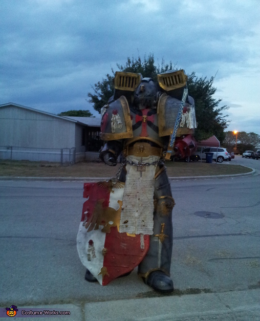Gearing up for Battle, Gray Knight Space Marine Costume