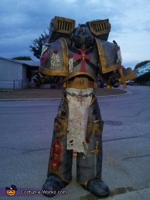 Who wants some of this????, Gray Knight Space Marine Costume