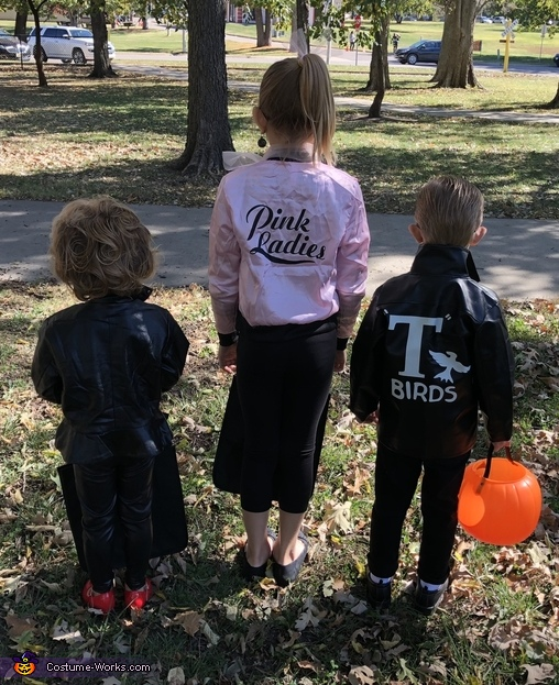 Back of Jackets, Grease Costume