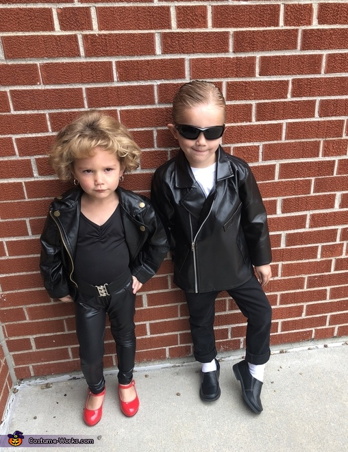 Danny & Sandy, Grease Costume