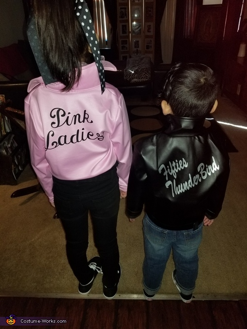 Grease Homemade Costume