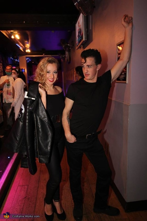 Grease Danny and Sandy Homemade Costume