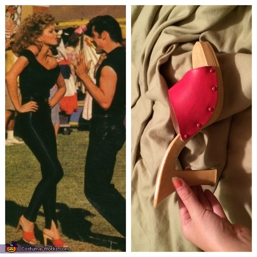 Sandy's Shoes , Grease Danny & Sandy Costume