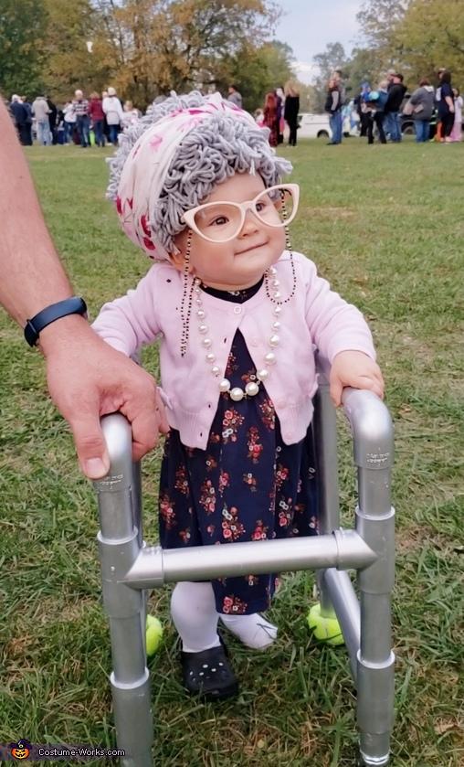 Great Granny Olivia Costume